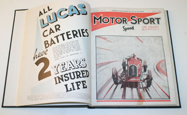 Lot 66-Bound Motor Sport Volume 16 1940
