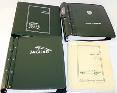 Lot 71-Jaguar XJS & Xj Workshop Manuals