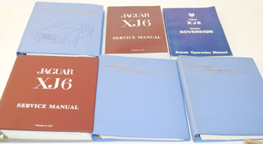 Lot 72-Jaguar Xj & E-Type Technical Literature