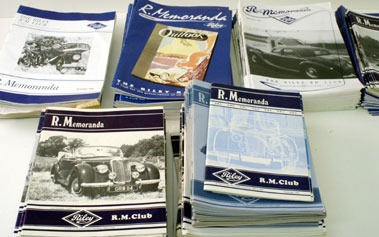 Lot 76-Quantity Of Riley Rm Club Magazines