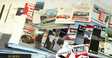 Lot 79-Assorted Motor Sport Related Literature