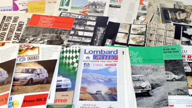 Lot 80-Assorted Rallying Literature