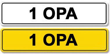 Lot 4-Registration Number 1 OPA