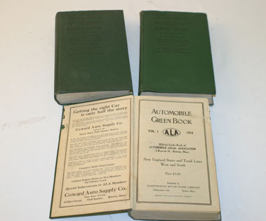 Lot 92-Three Editions Of The Automobile Green Book