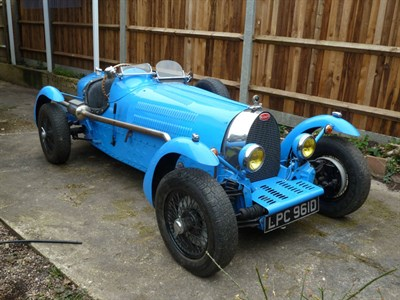 Lot 69-1986 Bugatti Type 35 Evocation