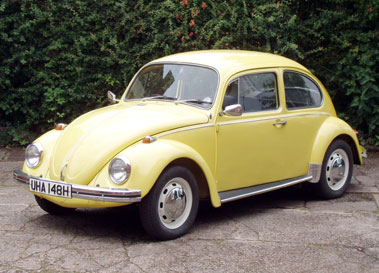 Lot 60-1969 Volkswagen Beetle