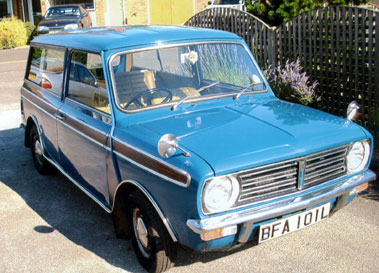 Lot 1-1972 Morris Mini Clubman Estate