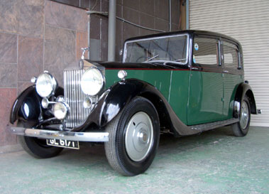 Lot 53-1938 Rolls-Royce 25/30 Saloon