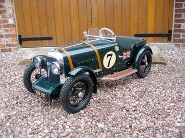 Lot 203-Bentley Le Mans Style Pedal Car