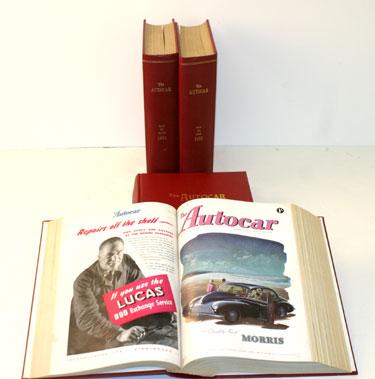 Lot 4-Bound The Autocar Magazine 1946-1957
