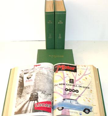 Lot 6-Bound The Motor Magazine 1946-57