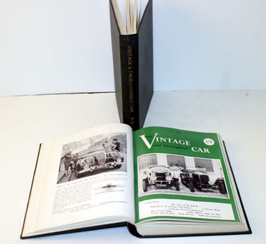 Lot 9-Bound Vintage & Thoroughbred Car Volumes 1-4