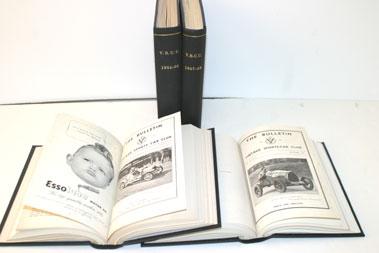 Lot 11-Bound Vscc Bulletins 1946-1993