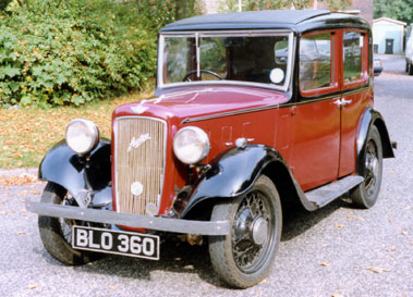 Lot 24-1934 Austin 10/4 Lichfield Saloon