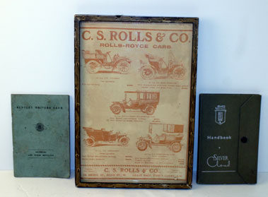 Lot 2-Rolls-Royce Silver Cloud Handbook And Others