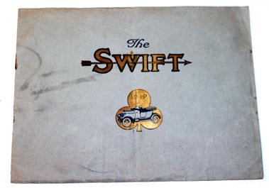 Lot 16-1922 Swift 10hp Sales Brochure