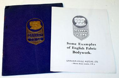 Lot 20-Graham-Paige Sales Brochure