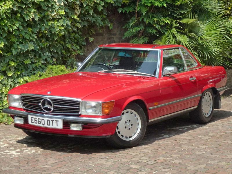 Lot 21-1987 Mercedes-Benz 300 SL