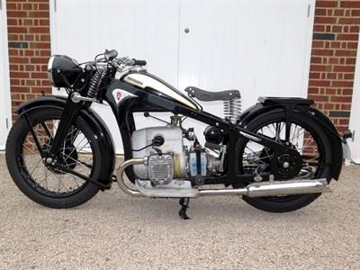 Lot 67-1937 Zundapp K500