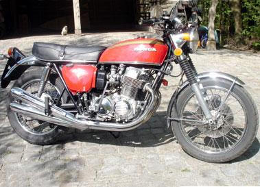 Lot 71-1972 Honda CB750