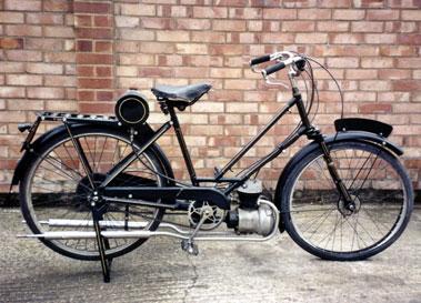 Lot 50-1939 Scott Autocycle