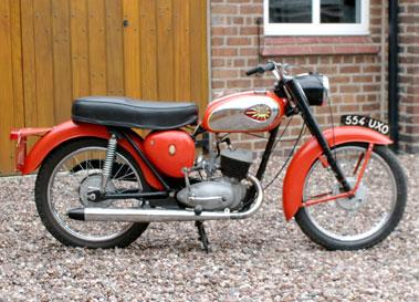 Lot 16-1962 BSA D7 Bantam