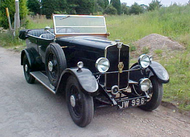 Lot 26-1931 Star Comet Tourer