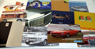 Lot 27-Assorted Post-War Sales Brochures