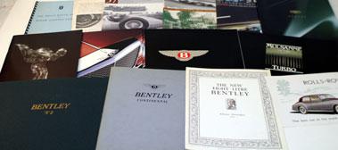 Lot 28-Rolls-Royce & Bentley Literature