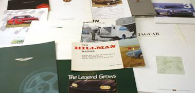 Lot 29-Assorted Sales Brochures
