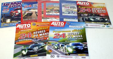 Lot 30-Le Mans 24 Hrs Race Programmes