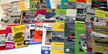 Lot 31-Selection Of Race Programmes