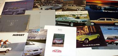 Lot 35-Assorted Sales Brochures