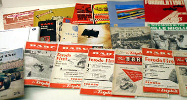 Lot 37-Assorted Post-War Racing Literature