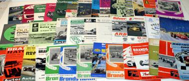 Lot 39-Quantity Of Race Programmes