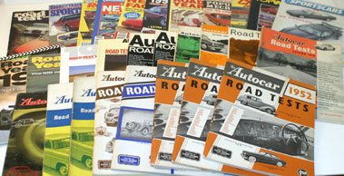Lot 43-The Autocar Road Test Annuals & Others