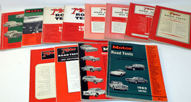 Lot 44-The Motor Road Test Annuals