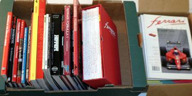 Lot 45-Ferrari Books And Magazines