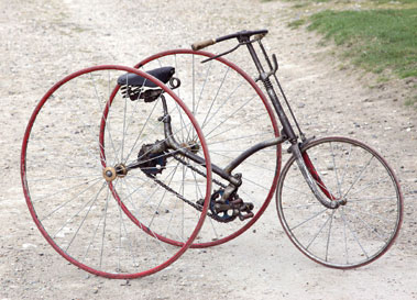 Lot 28-Humber Tricycle