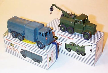 Lot 207-Dinky Military Vehicles