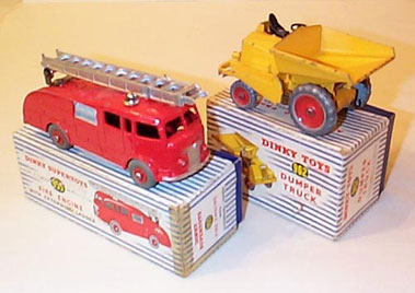 Lot 209-Dinky Commercial Vehicles