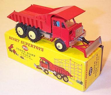 Lot 213-Dinky No.959 Foden Dump Truck
