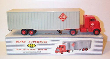 Lot 218-Dinky No.948 McLean Tractor-Trailer Rig
