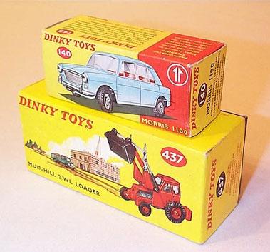 Lot 220-Dinky Original Empty Boxes