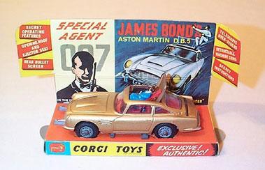 Lot 221-Corgi No.261 James BondS Aston Martin Db5