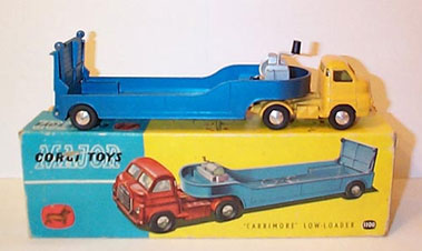 Lot 224-Corgi Major Toys No.1100 Bedford S-Type Articula Ted Low-Loader