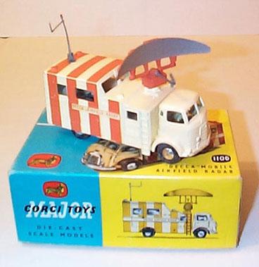 Lot 225-Corgi Major Toys No.1106 Raf Commer Mobile Decca Airfield Radar Truck