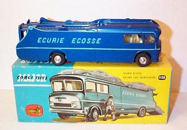 Lot 227-Corgi Major Toys No.1126 Ecurie Ecosse Racing Ca R Transporter