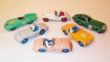 Lot 232-Dinky Competition Racing Cars