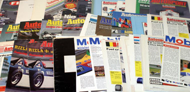 Lot 47-Quantity Of F1 Related Literature